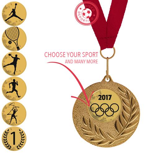 Medal Sport Football